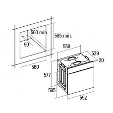 Духовой шкаф CATA UME 7007 X