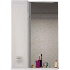 Шкаф-зеркало Аква Родос Мобис 55 L Белый
