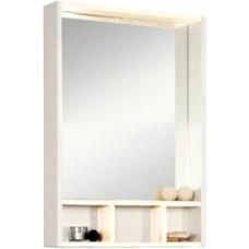 Зеркало-шкаф Акватон ЙОРК 60 белый/выбеленное дерево