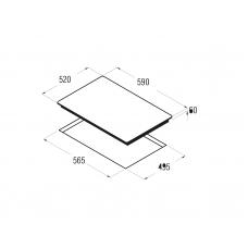 Поверхность варочная индукционная CATA I 6004 BK