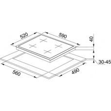 Linear FHGS 604 4G BK C